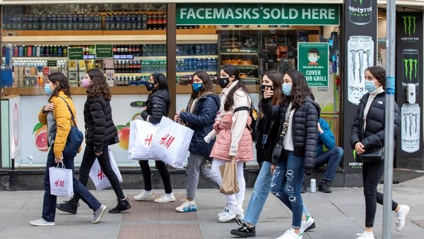 Some shops opened before 7am in order to alleviate pressure from pent-up consumer demand