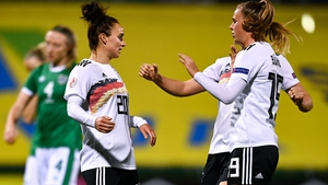 Germany ended Ireland's hopes in Tallaght