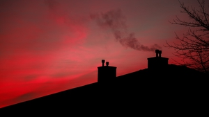 Air pollution spiked in many towns and cities last week (File pic)