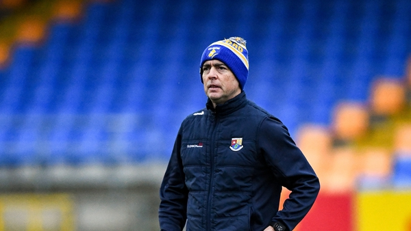 Longford manager Padraic Davis after the Leinster SFC match against Laois