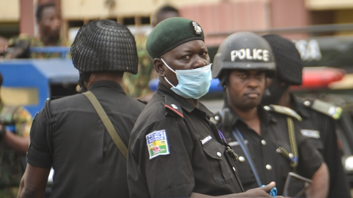 Nigerian police say over 300 students remain unaccounted for (File pic)