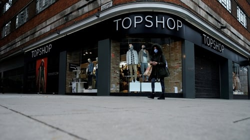 """""""Topshopis unlikely to disappear all together. Strong heritage and high brand awareness means it will probably continue to exist, even if that means only online"""" Photo: Hollie Adams/AFP via Getty Images"""
