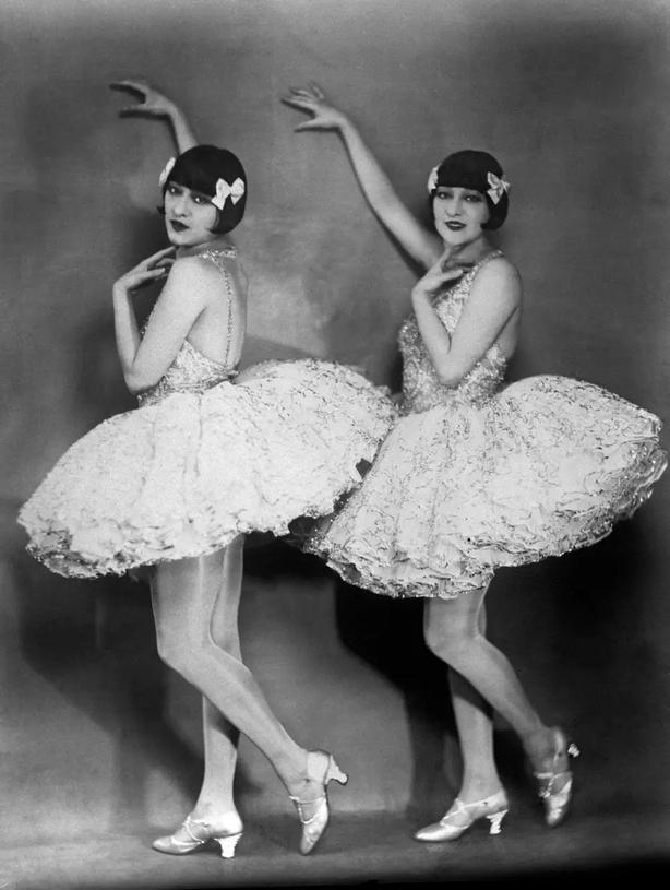 Dancers performing in 1924 PA