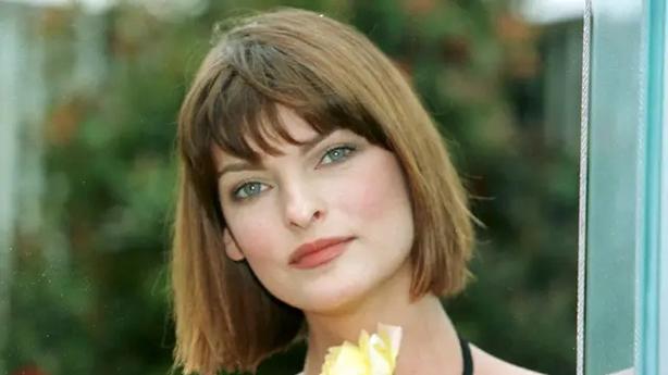 Supermodel Linda Evangelista in 1997