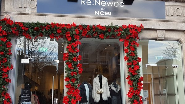 The shop will be open for December only (Pic: @NCBI_sightloss)