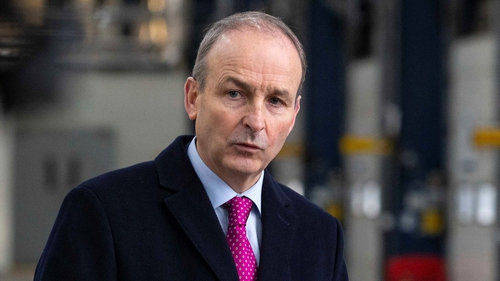 Micheál Martin said that there was a huge volume of work to get through (File pic)