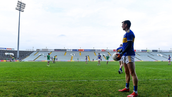 Conor Sweeney prepares to level against Limerick in a Munster semi-final Tipperary won in extra-time