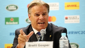 Brett Gosper is set to take up a new challenge