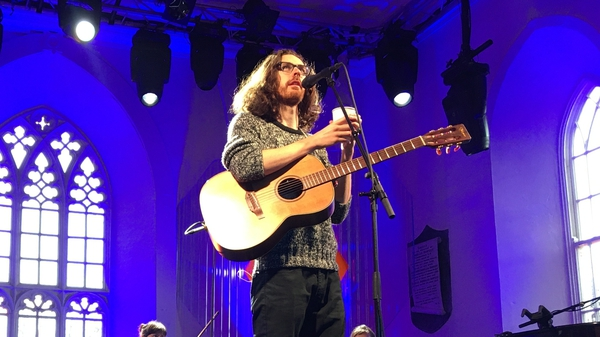 Hozier was a last minute addition to this year's Other Voices festival