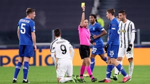 Stephanie Frappart became the first female referee to take charge of a Champions League match.