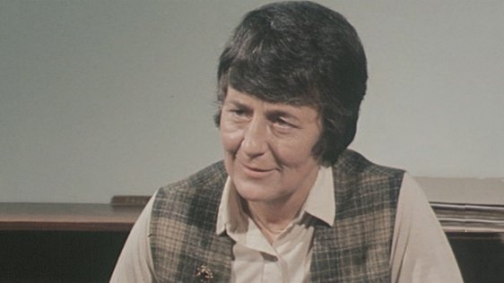 Bank Branch Manager Pauline Martin in 1980.