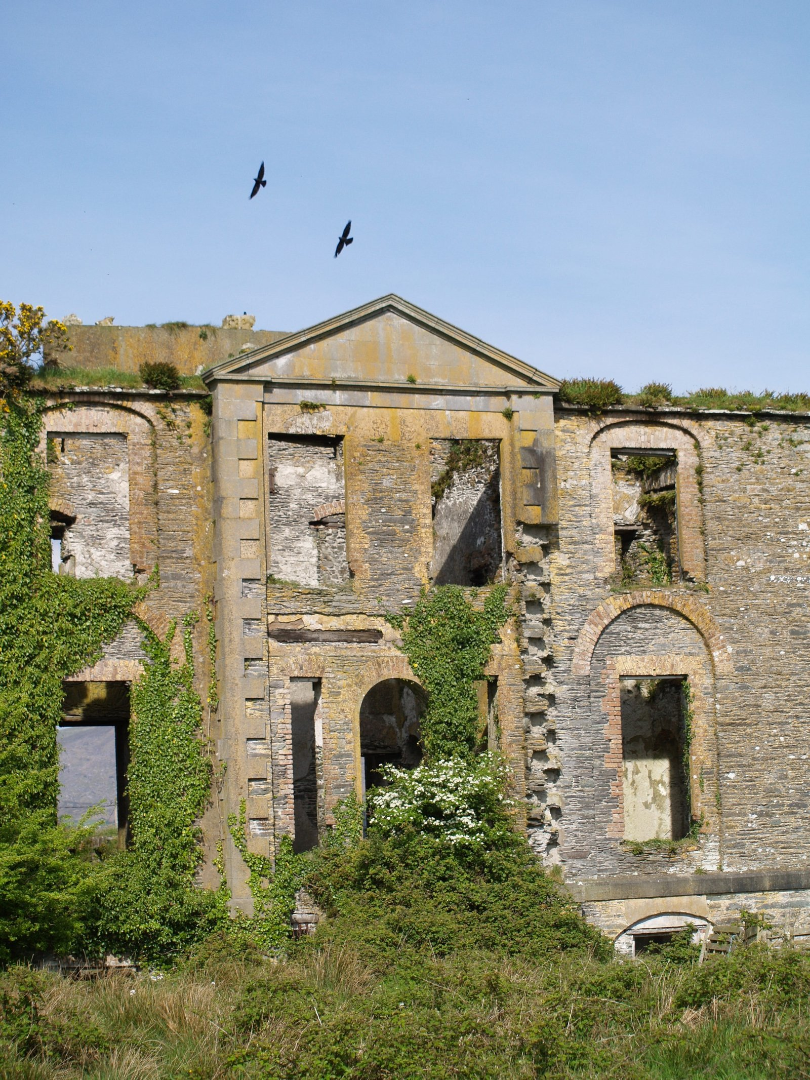 Image - The ruins of Bahaghs workhouse near Cahersiveen, Co. Kerry. Photo: John Crowley