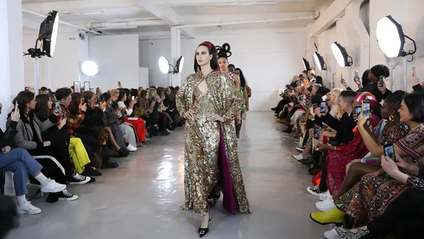 It's time to embrace glittering gold festive fashion, says Katie Wright.