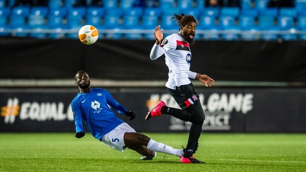 The two sides met in Tallaght in October - Molde winning 2-1