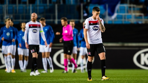 It's five defeats from five for Dundalk