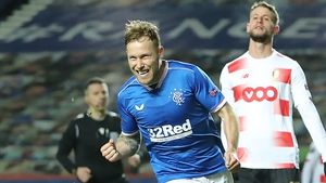 Arfield celebrates what would prove to be the winner