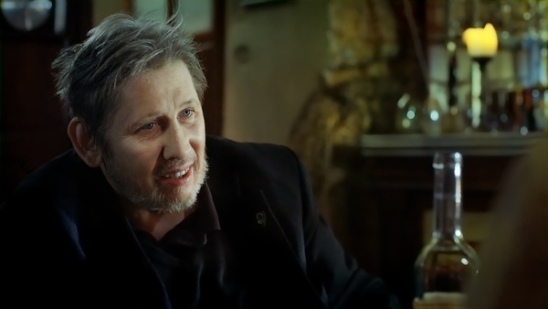Shane MacGowan, who turns 63 on Christmas Day, in A Crock of Gold: A Few Rounds With Shane MacGowan