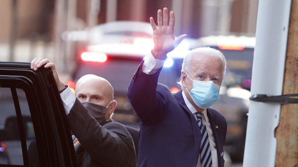Joe Biden said he was willing to be vaccinated in public