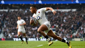 Watson replaces Jonathan Joseph in the number 14 jersey