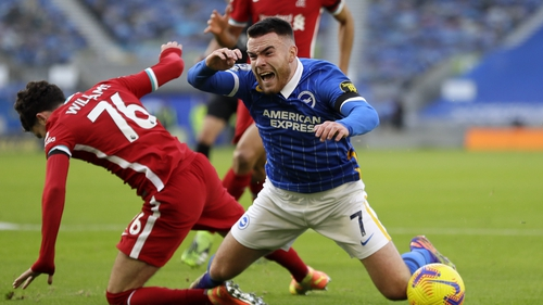 Aaron Connolly impressed against Liverpool