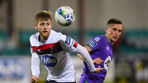 Aaron McEneff scored twice in the semi-final to set up a final showdown with Dundalk