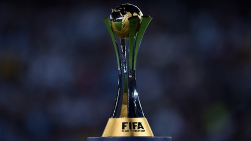 The Club World Cup trophy