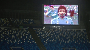 The San Paolo stadium in Naples has been renamed in honour of Diego Maradona