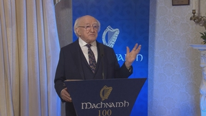 President Higgins said women are carrying the greater burden in dealing with the consequences of Covid-19 (file image)