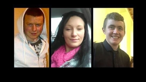 Stephen McCafferty, Teresa Robinson and Kaylem Murphy died in the collision in July 2016