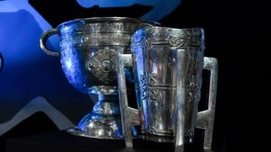 The Sam Maguire and Liam MacCarthy cups