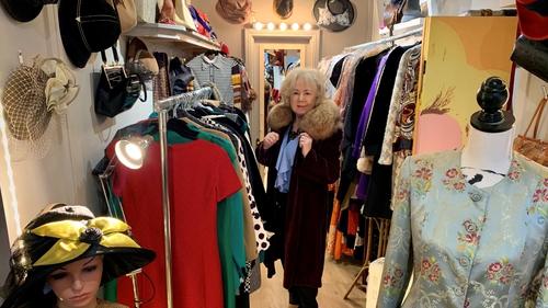 Carmel Crawford owner of Chic Marilyn and Soeur de Marilyn.