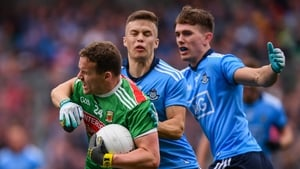 Eoin Murchan (c) and Michael Fitzsimons are two-thirds of a relatively small Dublin full-back line