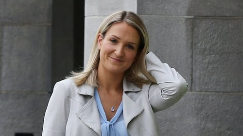 Helen McEntee is allowed to take six months' paid maternity leave from 30 April