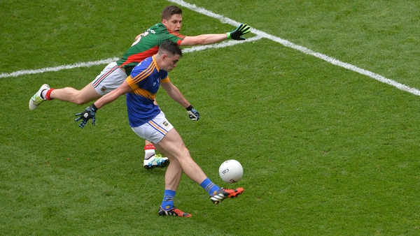 Lee Keegan kept Michael Quinlivan scoreless from play in the 2016 All-Ireland semi-final