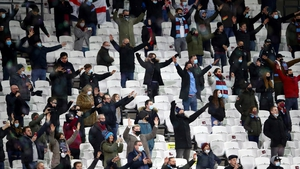 No fans will be permitted to attend West Ham's home game