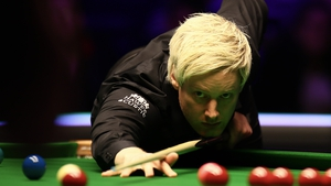Neil Roberston took advantage of a bad miss from Judd Trump in the final frame