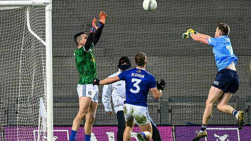 Robbie McDaid palms home his goal
