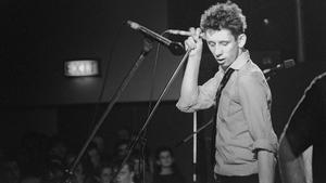 Shane MacGowan in 1985. Photo credit: Andrew Catlin