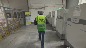 Nine ultra-low temperature freezers which can each store between 175,000 and 200,000 doses of the jab have arrived ahead of the vaccine's roll-out