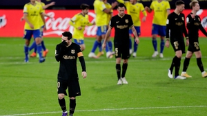 It was another frustrating evening for Lionel Messi and Co