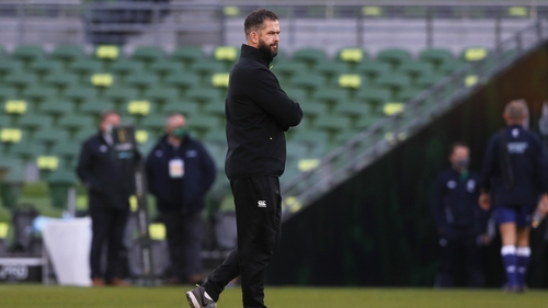 Andy Farrell has a 66% win rate in his opening season