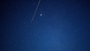 The capsule carrying samples entered the atmosphere just before 17:30pm Irish time, creating a shooting-star-like fireball as it entered Earth's atmosphere