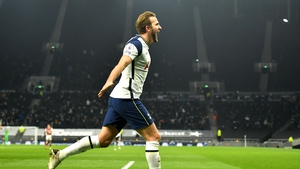 Harry Kane doubled the home side's advantage just before the break - and he is now the highest ever scorer in the derby