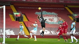 Caoimhín Kelleher has impressed between the sticks for Liverpool