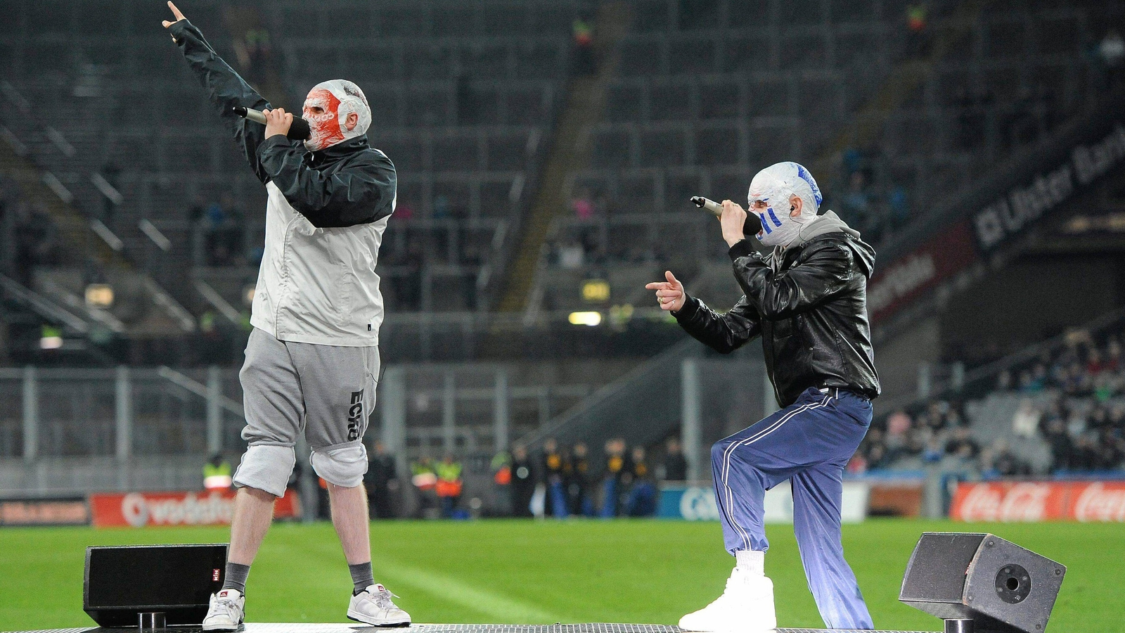 Image - The Rubberbandits were one of the musical acts to perform during the 2012 Spring Series