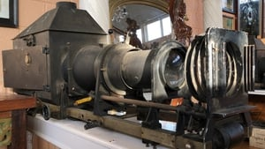 An early 20th century projector from Dublin's Gaiety Theatre