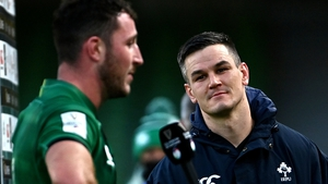 Will Connor (l) and Johnny Sexton are in contention for Leinster