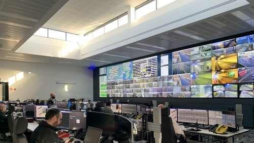 The MotorwayOperations andControlCentre at the Port Tunnel