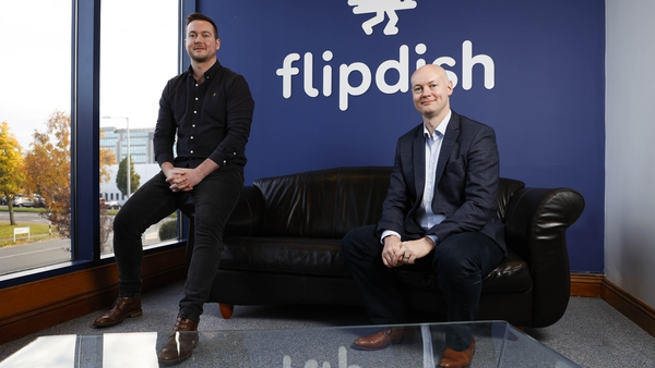 James McCarthy and Conor McCarthy, co-founders of Flipdish
