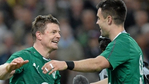 Brian O'Driscoll and Conor Murray